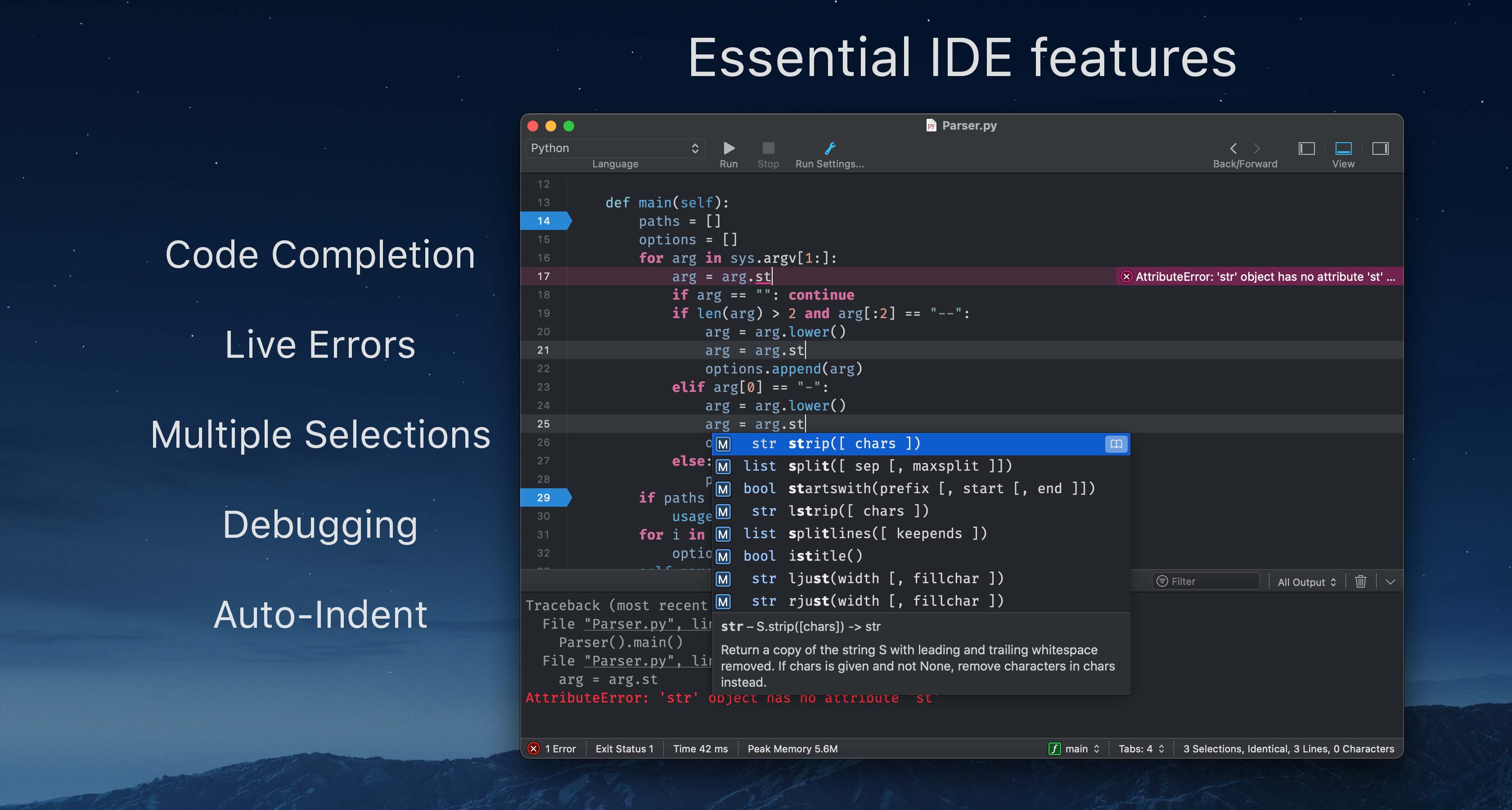 CodeRunner 4.0.2 Mac 破解版 实用的多语言编程开发工具