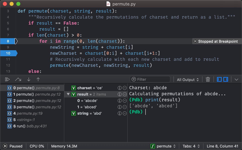CodeRunner – Programming Editor for macOS